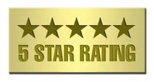 5-STAR RATING ON AMAZON.COM