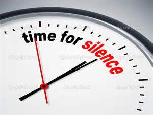 The seconds of our life are ticking by. We need to make time for Silence and cherish every second, every breath.