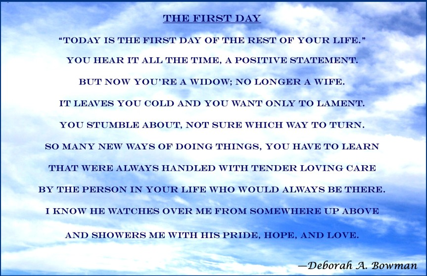 The First Day Poem, 5-3-18