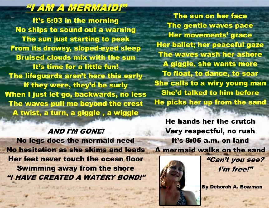 I am a mermaid, 6-20-18